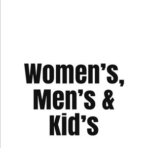 Other - Various sizes in Women, men and kids Closests